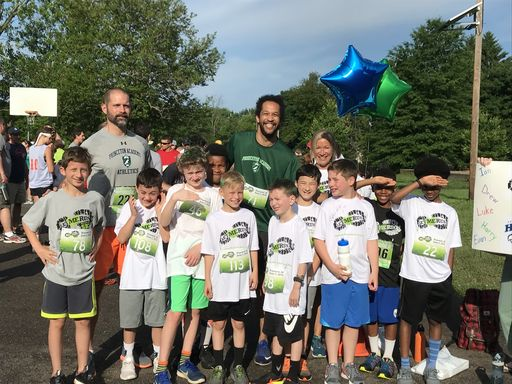 Grade 4 Boys Participate in Let Me Run 5K