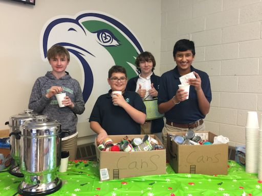 MS Hot Cocoa Sale Benefits HomeFront