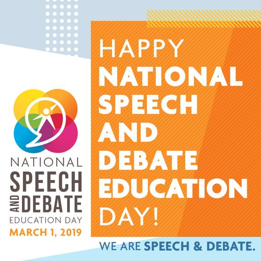 PASH Celebrates National Speech and Debate Education Day