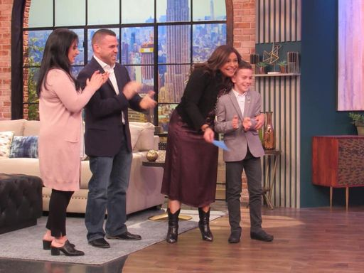 Third Grader Featured on the Rachael Ray Show for His Inspiring Community Service