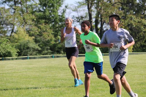 DASH at PASH 5K for Boys' Wellness on OCT. 5!
