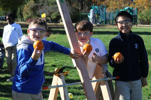 3rd Annual PASH Pumpkin Catapult Launch is a Smashing Success!