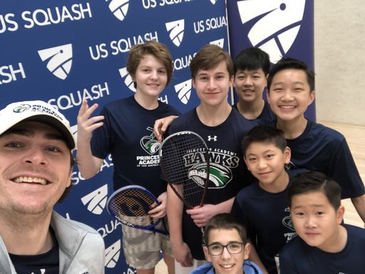 Squash Team Finishes Strong at National Championships