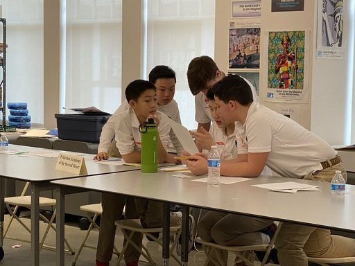MS Students Participate in NJ MS Ethics Bowl