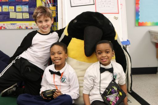Emperor Penguin Dad Day in Second Grade